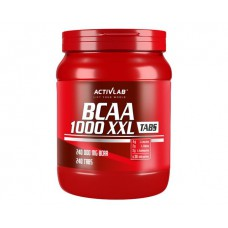 Аминокислоты BCAA 1000 XXL Activlab (240 табл)