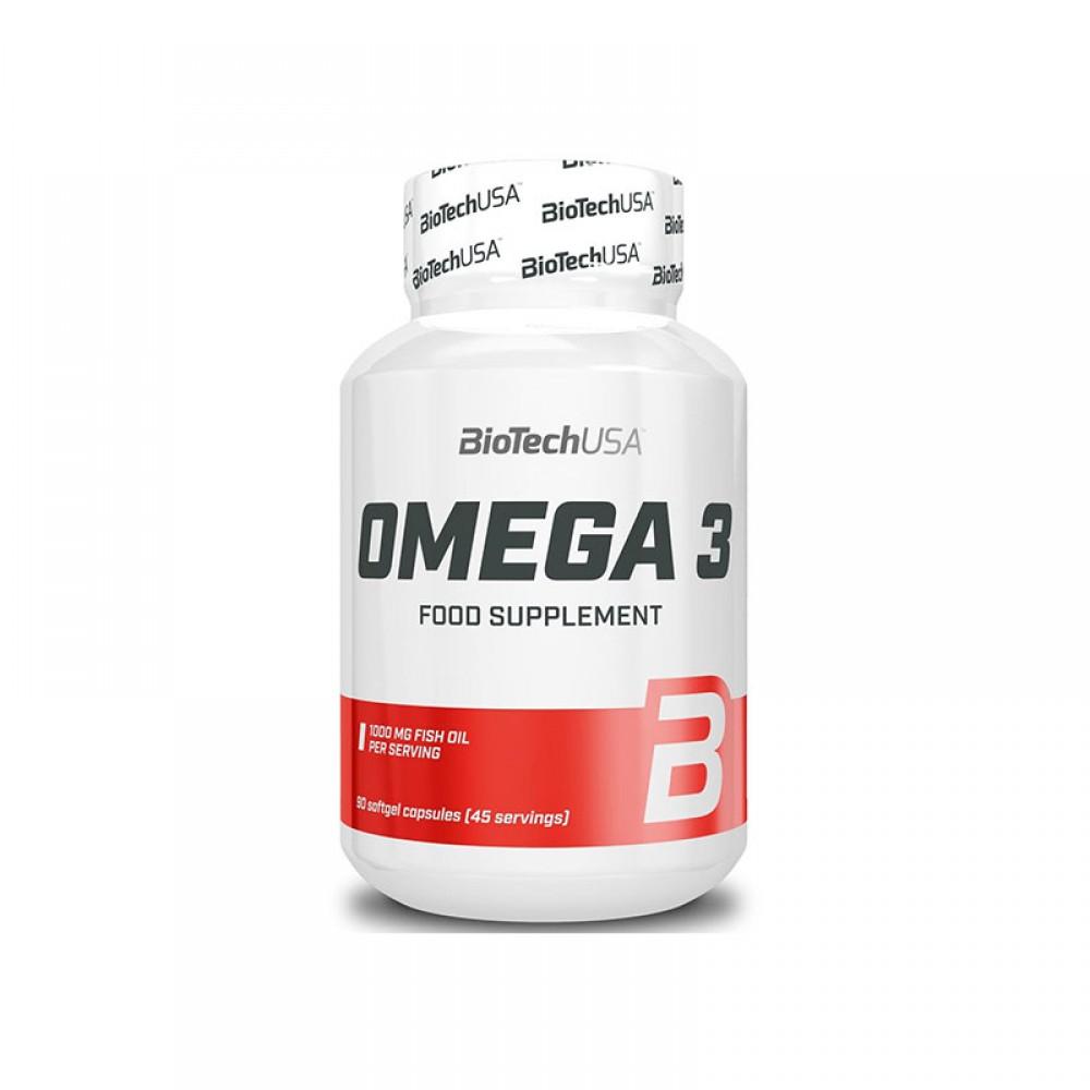 Витамины Omega 3 BioTech USA (90 капс.)