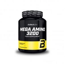 Аминокислоты Mega Amino 3200 BioTech USA (500 табл.)