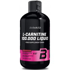 L-карнитин L-Carnitine 100.000 Liquid BioTech USA (500 мл)
