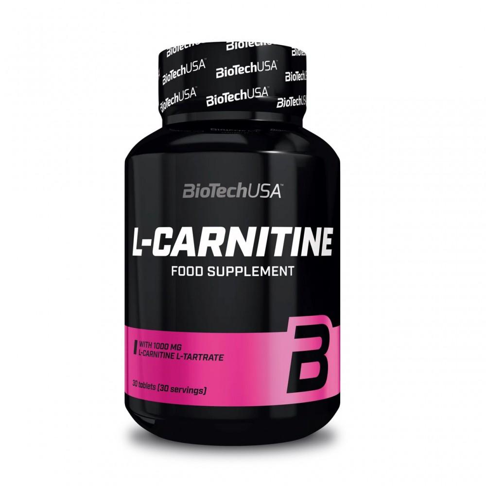 L-карнитин L-Carnitine 1000 mg BioTech USA (60 табл.)