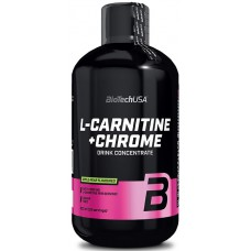 L-карнитин L-carnitine + Chrome BioTech USA (500 мл)