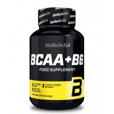 Аминокислоты BCAA + B6 BioTech USA (100 табл.)