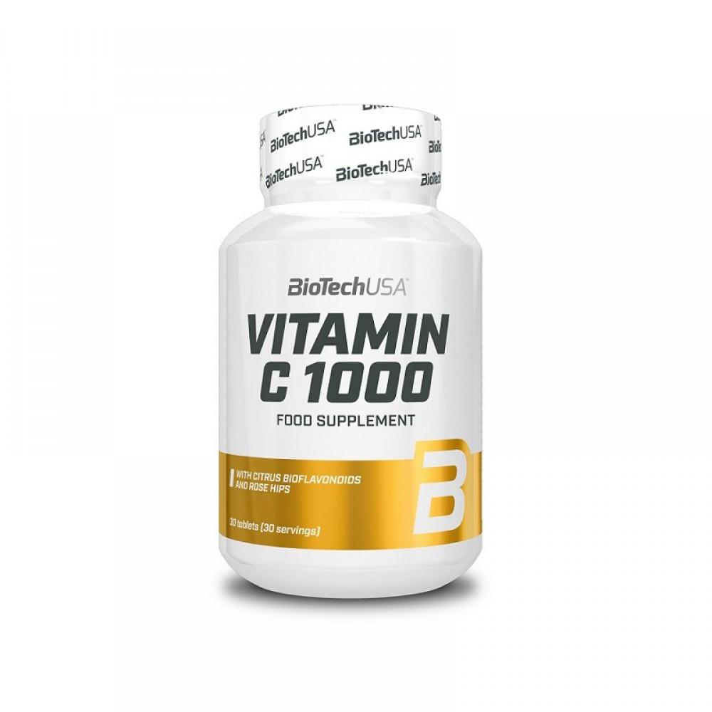 Витамины Vitamin C 1000 BioTech USA (30 табл.)