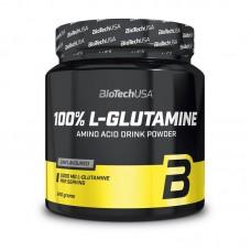 Глютамин 100% L-Glutamine BioTech USA (240 г)