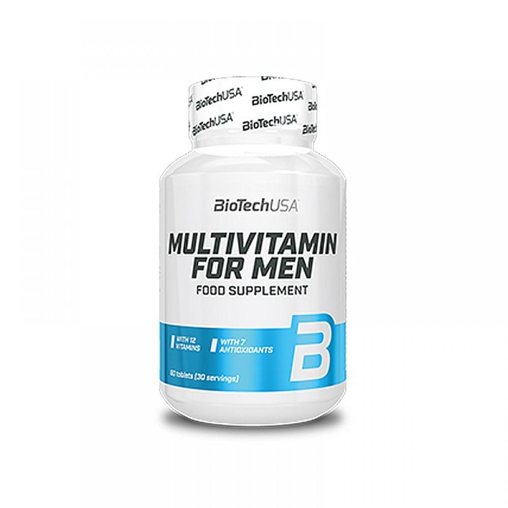 Витамины Multivitamin For Man BioTech USA (60 табл.)