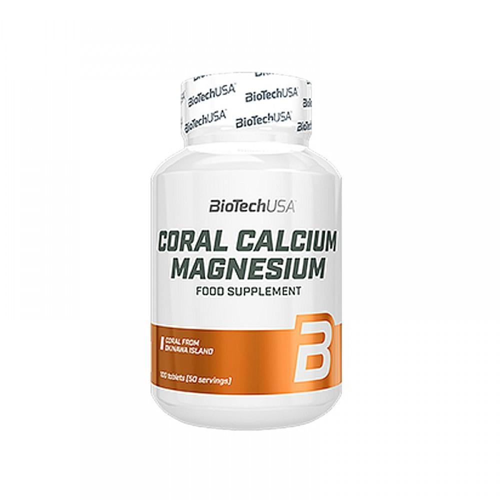 Витамины Coral Calcium Magnesium BioTech USA (100 табл.)