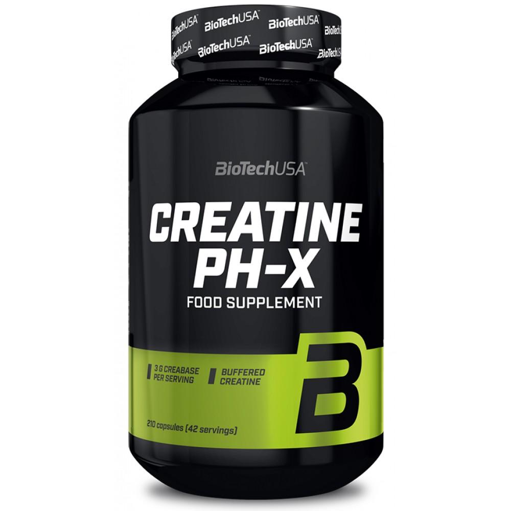 Креатин Creatine pH-X BioTech USA (210 капс.)