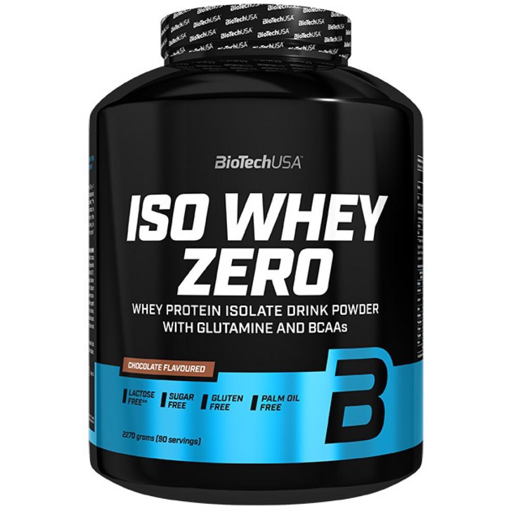 Протеин Iso Whey Zero BioTech USA (2270 г)