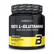 Глютамин 100% L-Glutamine BioTech USA (500 г)