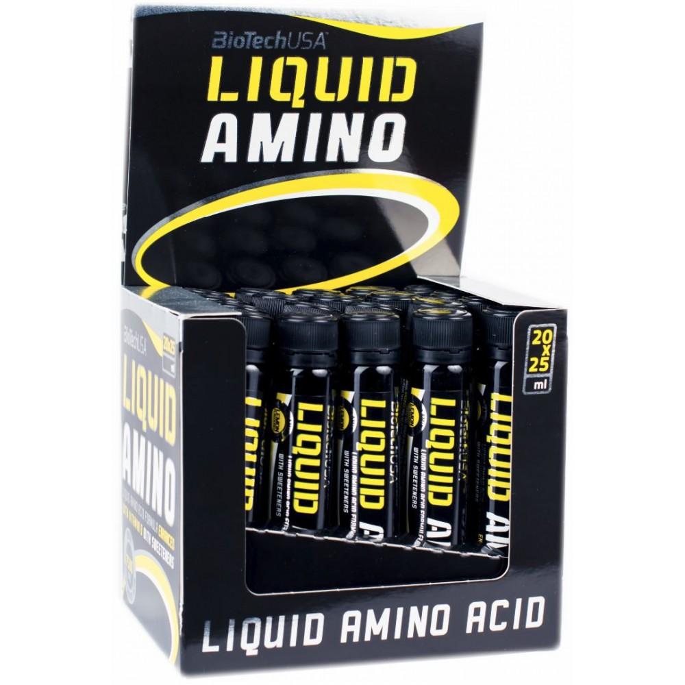 Аминокислоты Liquid Amino BioTech USA (20 амп.)