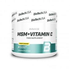 Витамины MSM Vitamin C BioTech USA (150 г)