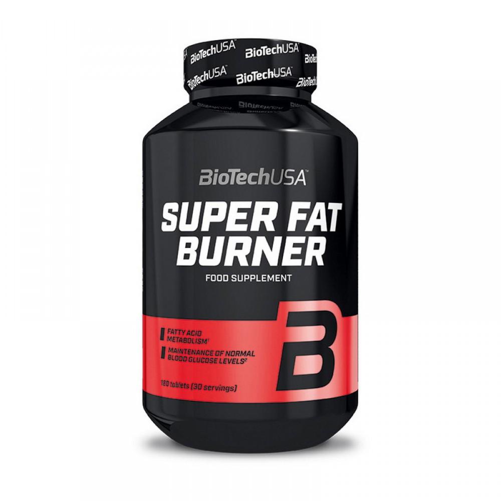 Жиросжигатель Super Fat Burner BioTech USA (120 табл.)
