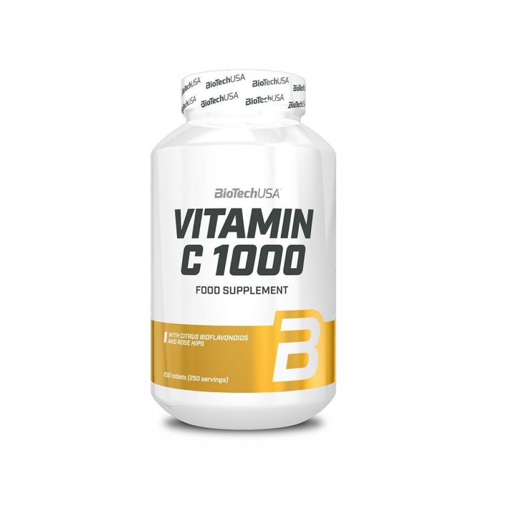 Витамины Vitamin C 1000 BioTech USA 250 табл
