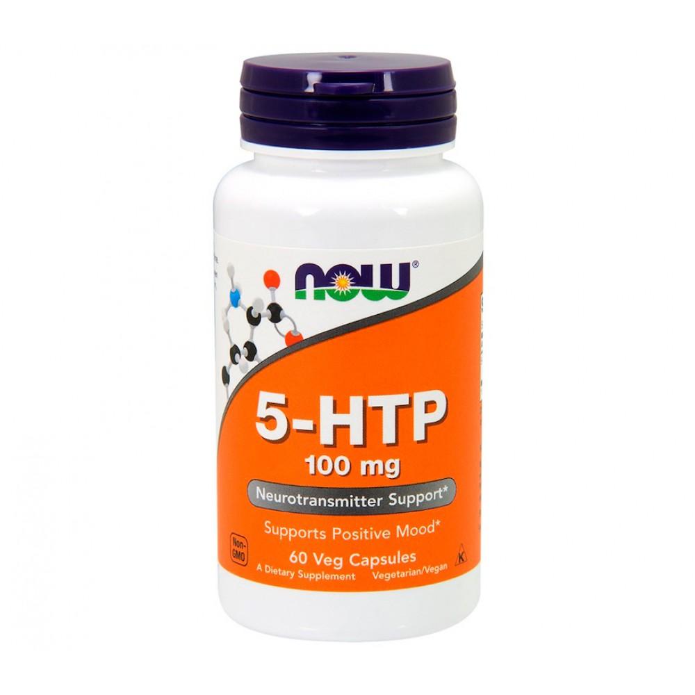 5-HTP 100 mg NOW (60 капс)