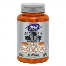 Arginine & Ornithine NOW (100 капс)