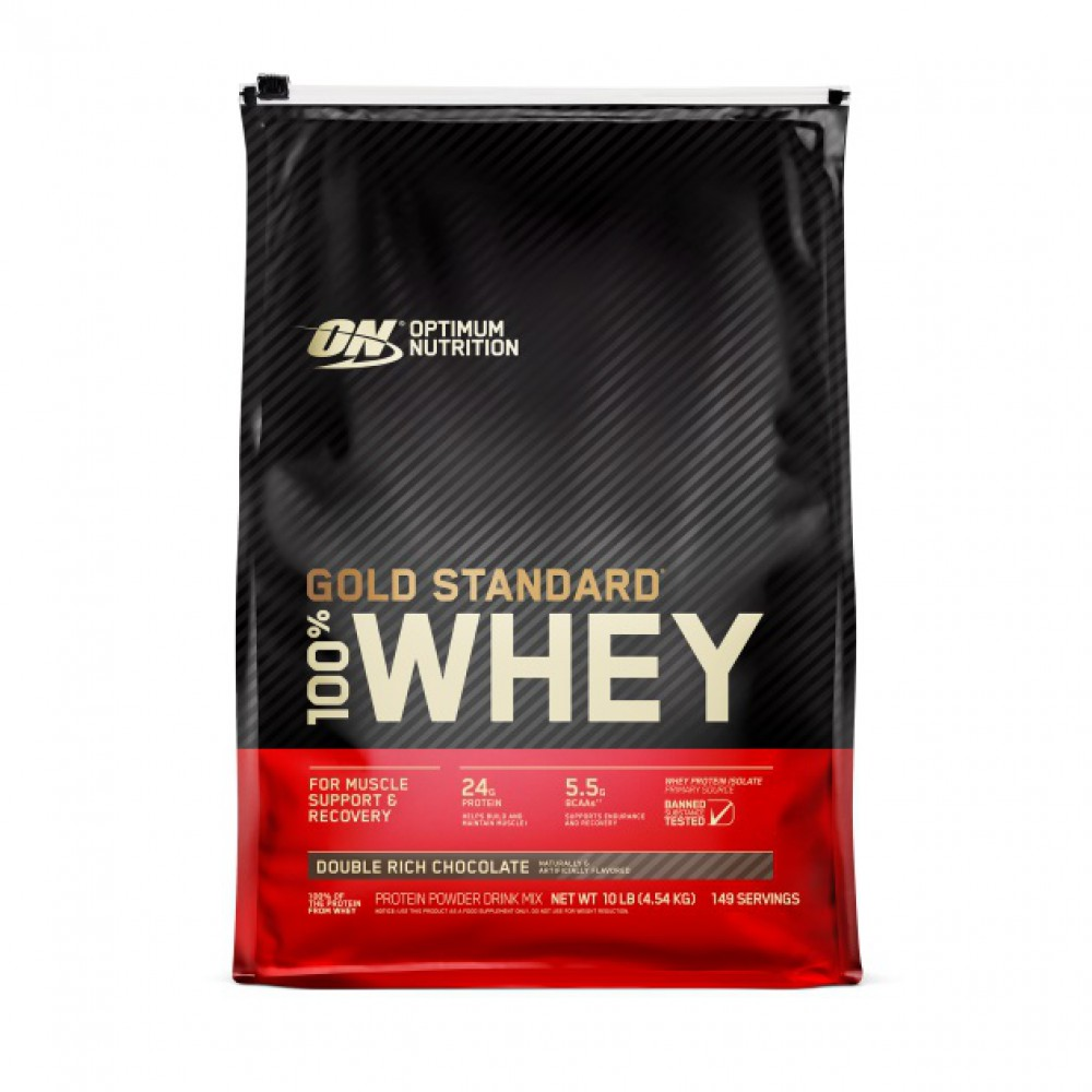Протеин 100% Whey Gold Standard Optimum Nutrition (4540 гр)