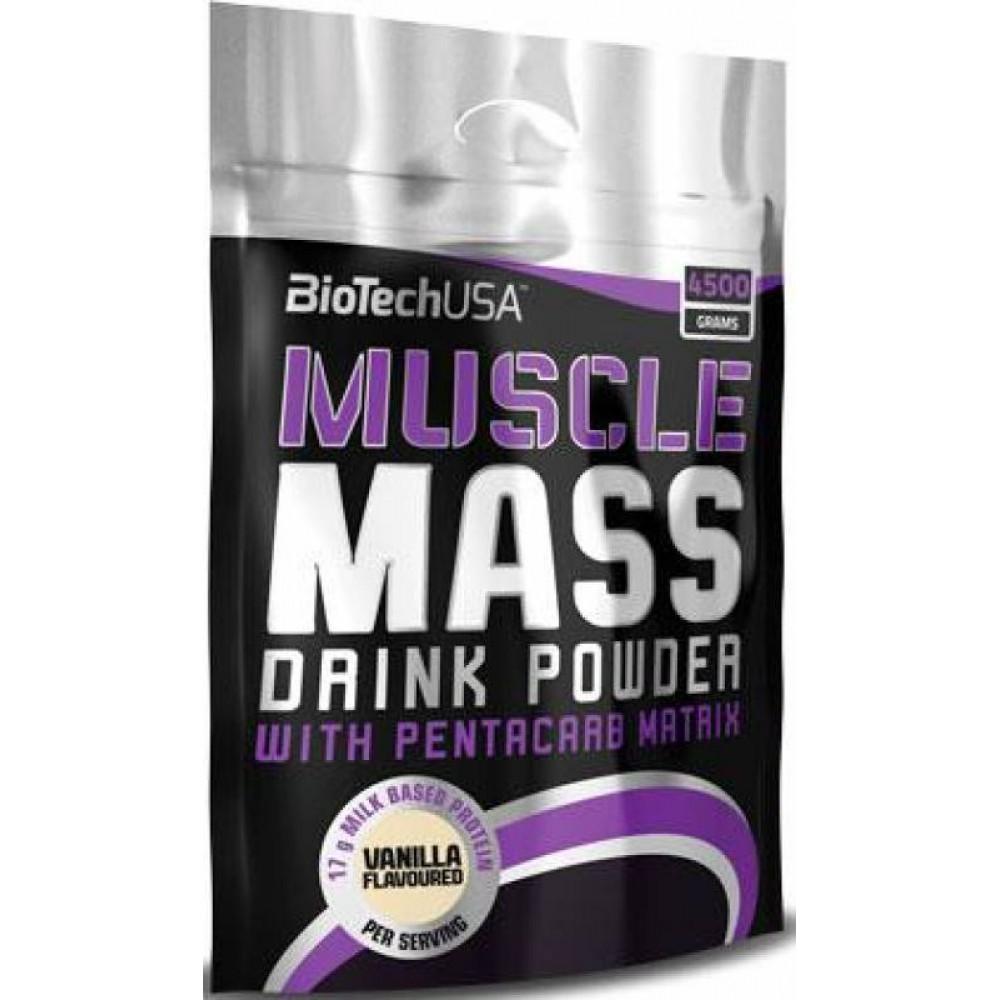 Гейнер Muscle Mass BioTech USA (4000 г)