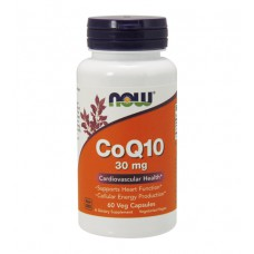 CoQ10 30 mg NOW (60 капс)