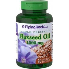 Flaxseed Oil 1000 mg Piping Rock (90 капс)