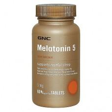 MELATONIN 5 Gnc (60 капс)