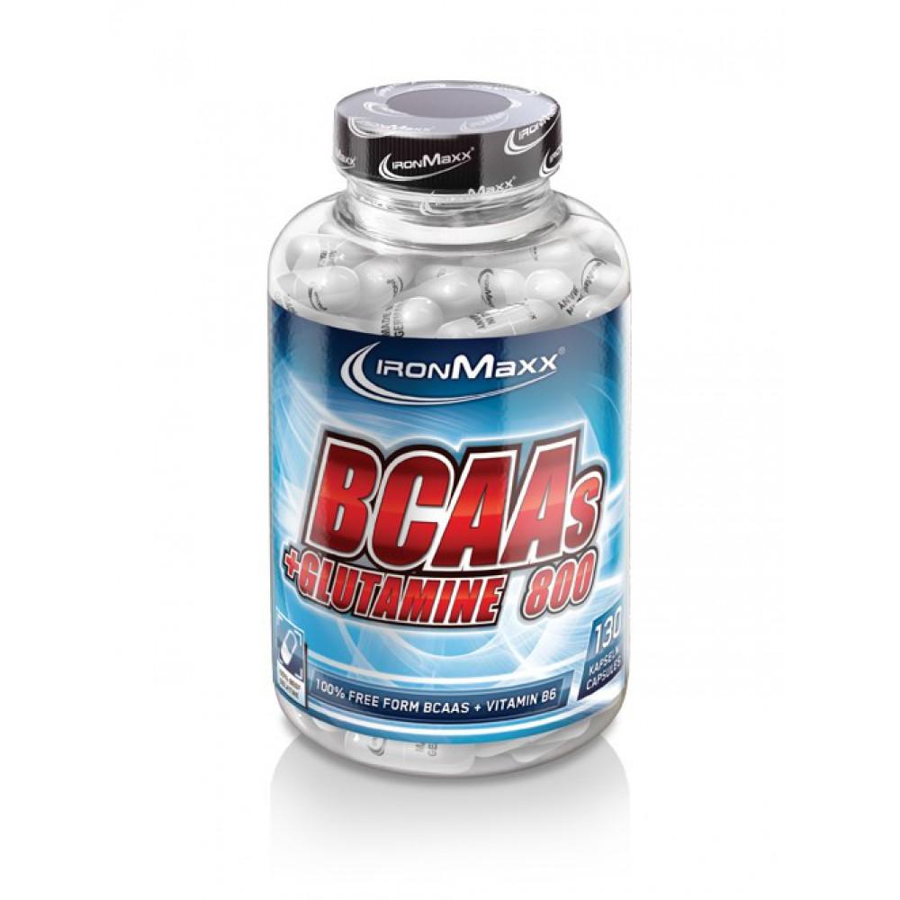BCAAs+Glutamin 800 IronMaxx (130 капс)