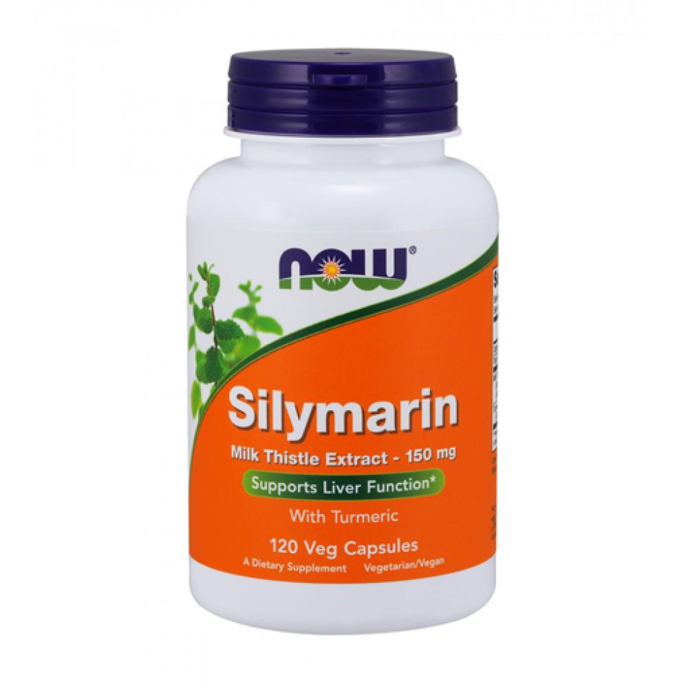 Silymarin Milk Thistle Extract 150 mg NOW (120 капс)