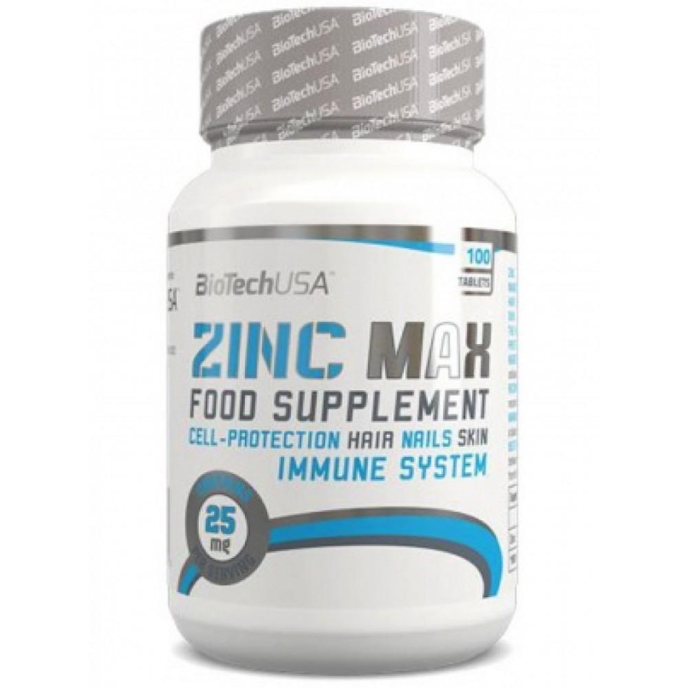 Витамины Zinc 100 BioTech USA (100 табл.)