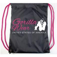 Сумка Gorilla Wear Drawstring Blakc Pink