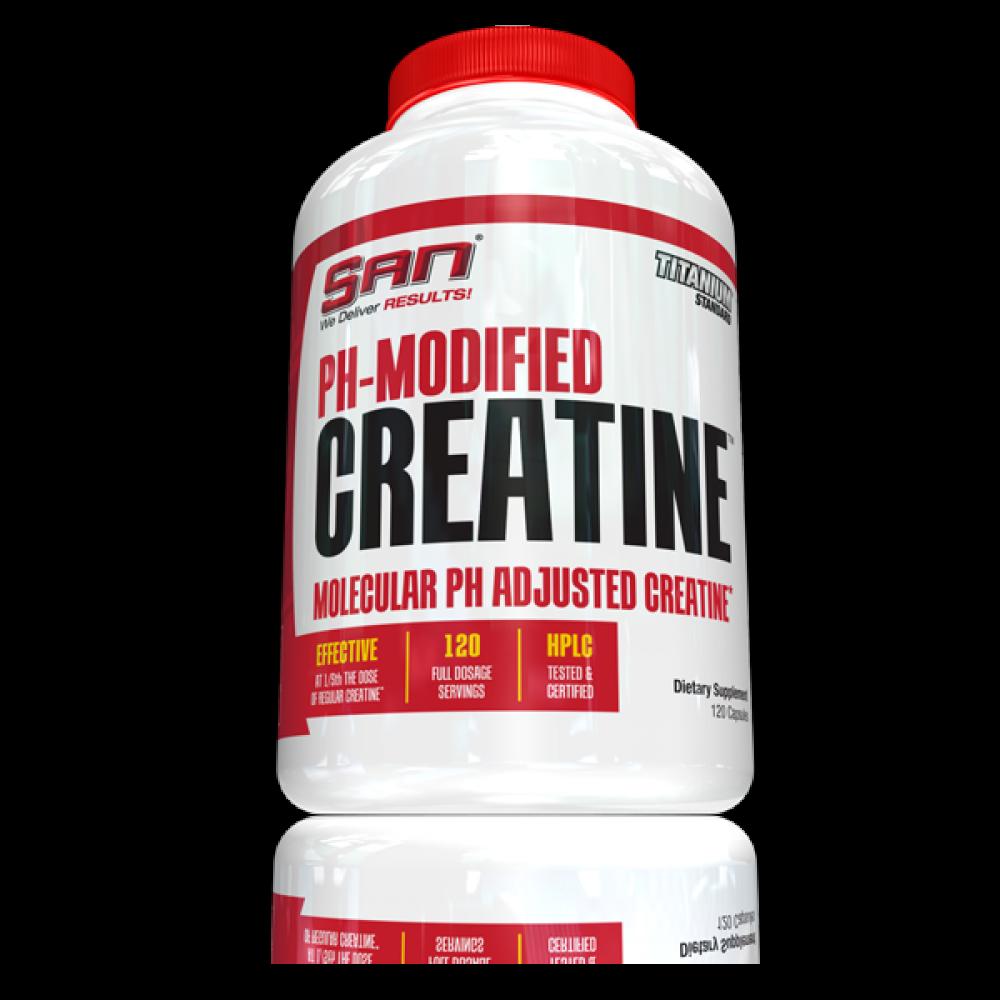Ph Modified Creatine San Nutrition (120 капс)