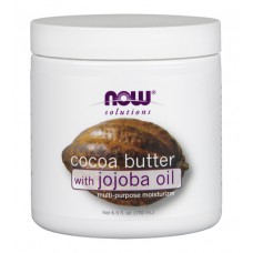Cocoa Butter with jojoba oil NOW (192 мл)