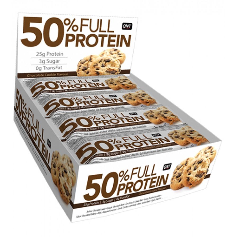 Full Protein Bar QNT (12 x 50 гр)