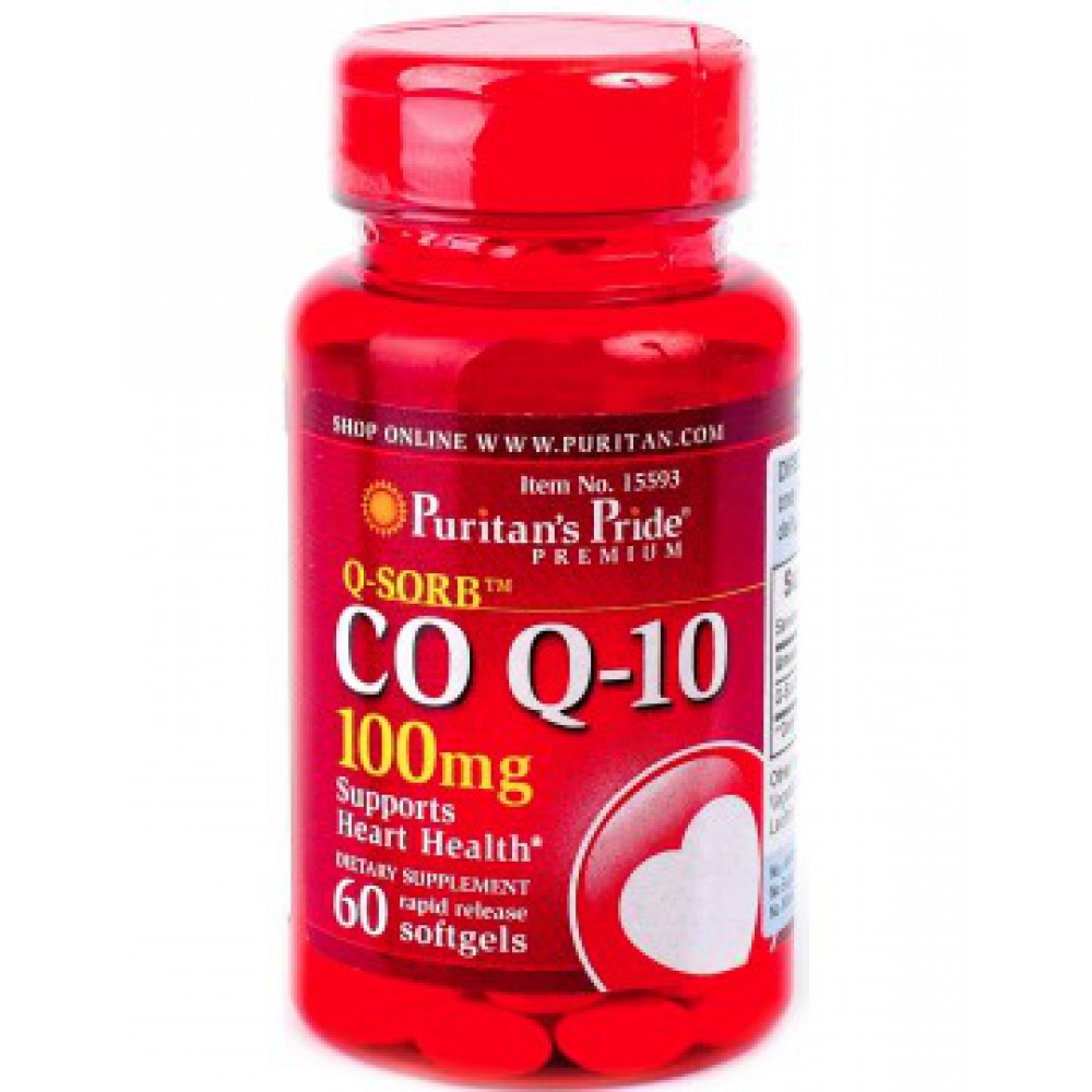 Q-Sorbt Co Q-10 (100 mg) 60 Softgels