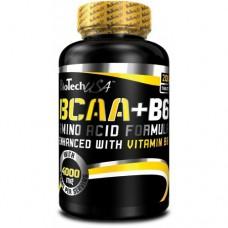 Аминокислоты BCAA + B6 BioTech USA (200 табл.)
