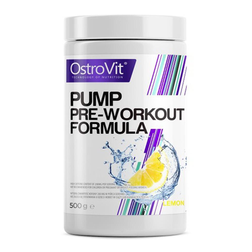 Pump Pre-Workout Ostrovit (500 гр)