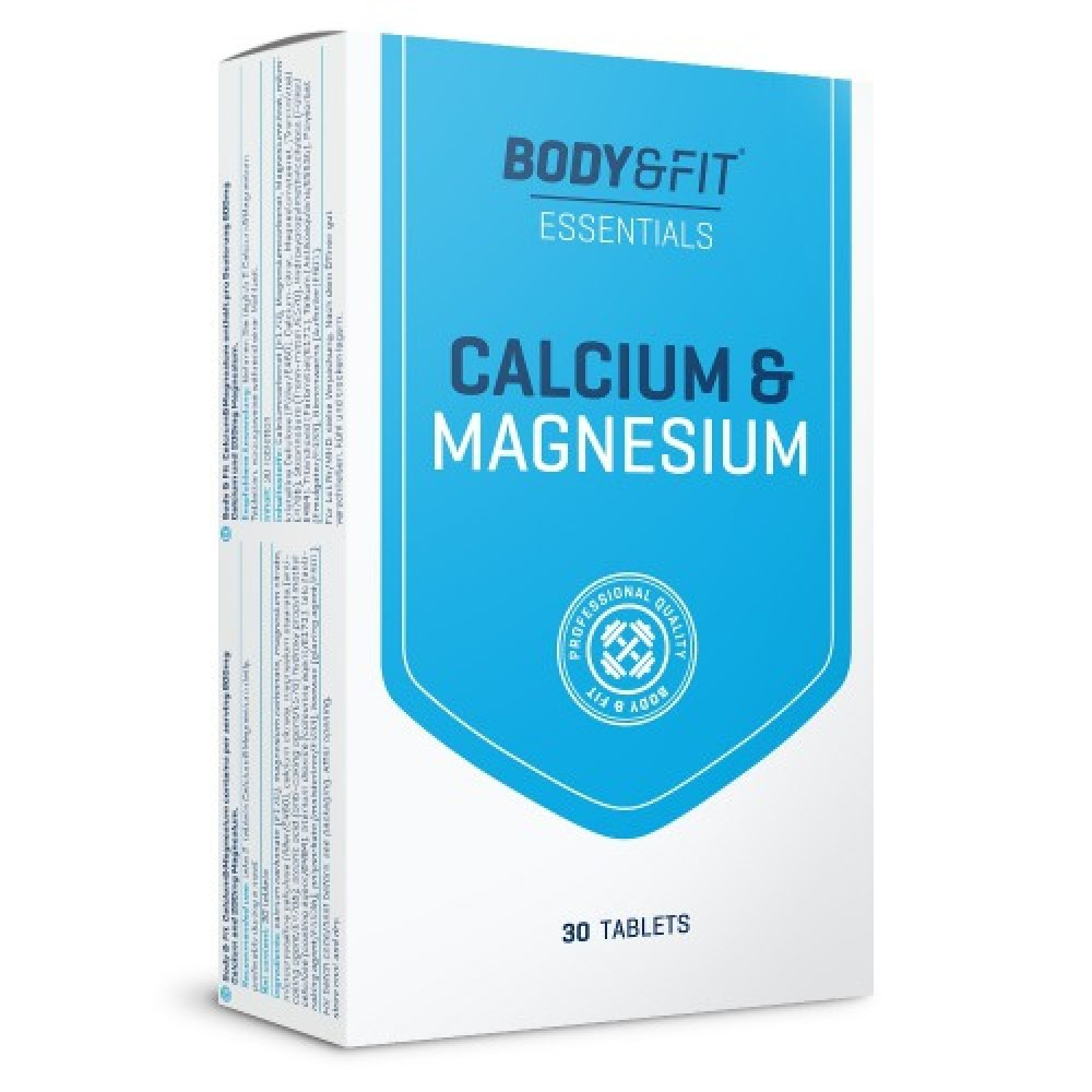 Calcium & Magnesium Body and Fit (180 табл)
