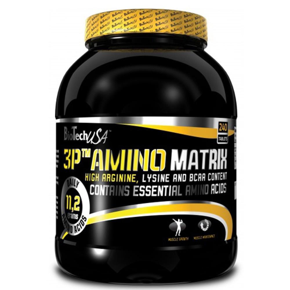 Аминокислоты 3P Amino Matrix BioTech USA (240 табл.)