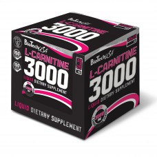 L-карнитин L-Carnitine Ampule 3000 BioTech USA (20 амп.)