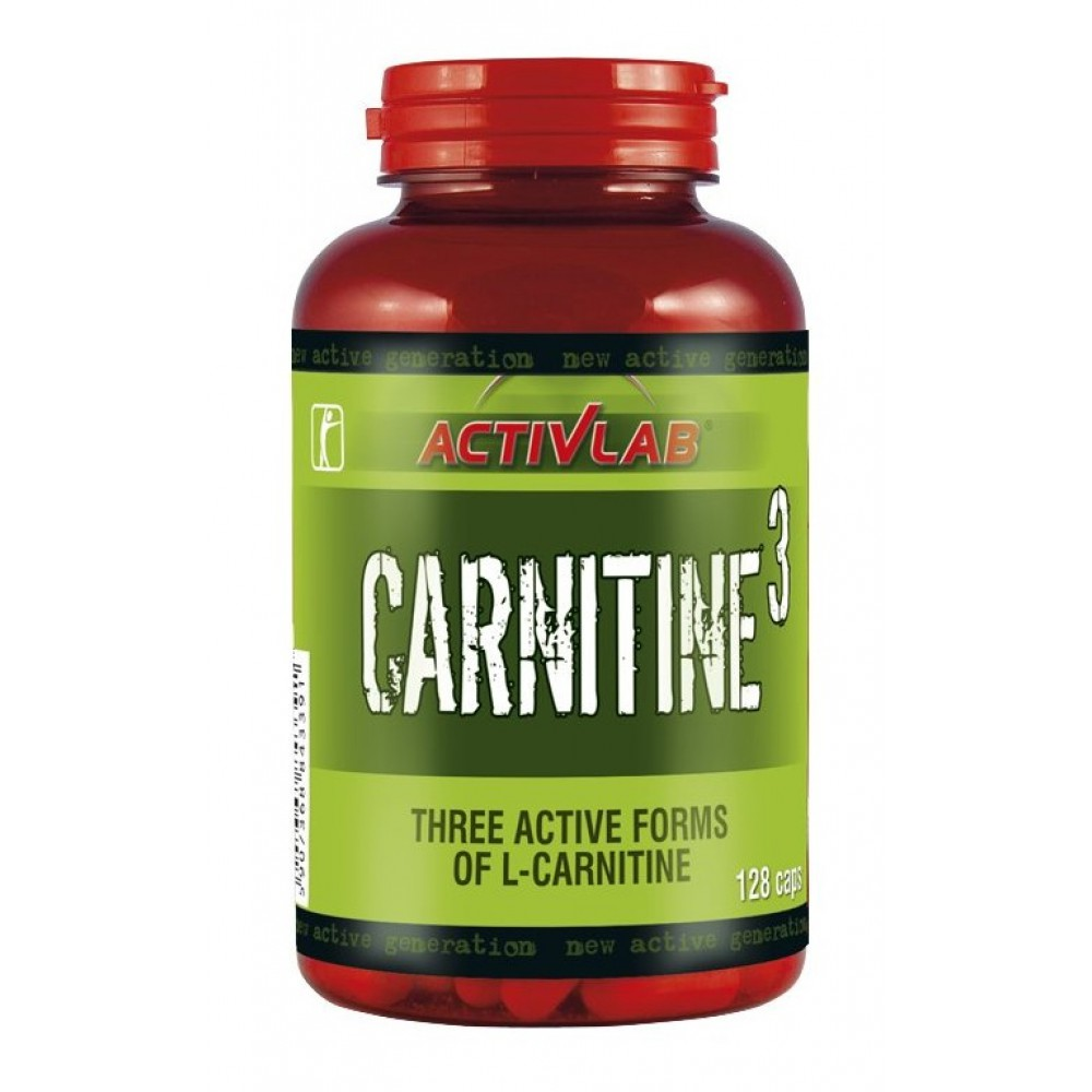 L-карнитин Carnitine 3 Activlab (128 капс)