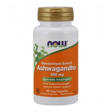 Ashwagandha 450 mg NOW (90 капс)