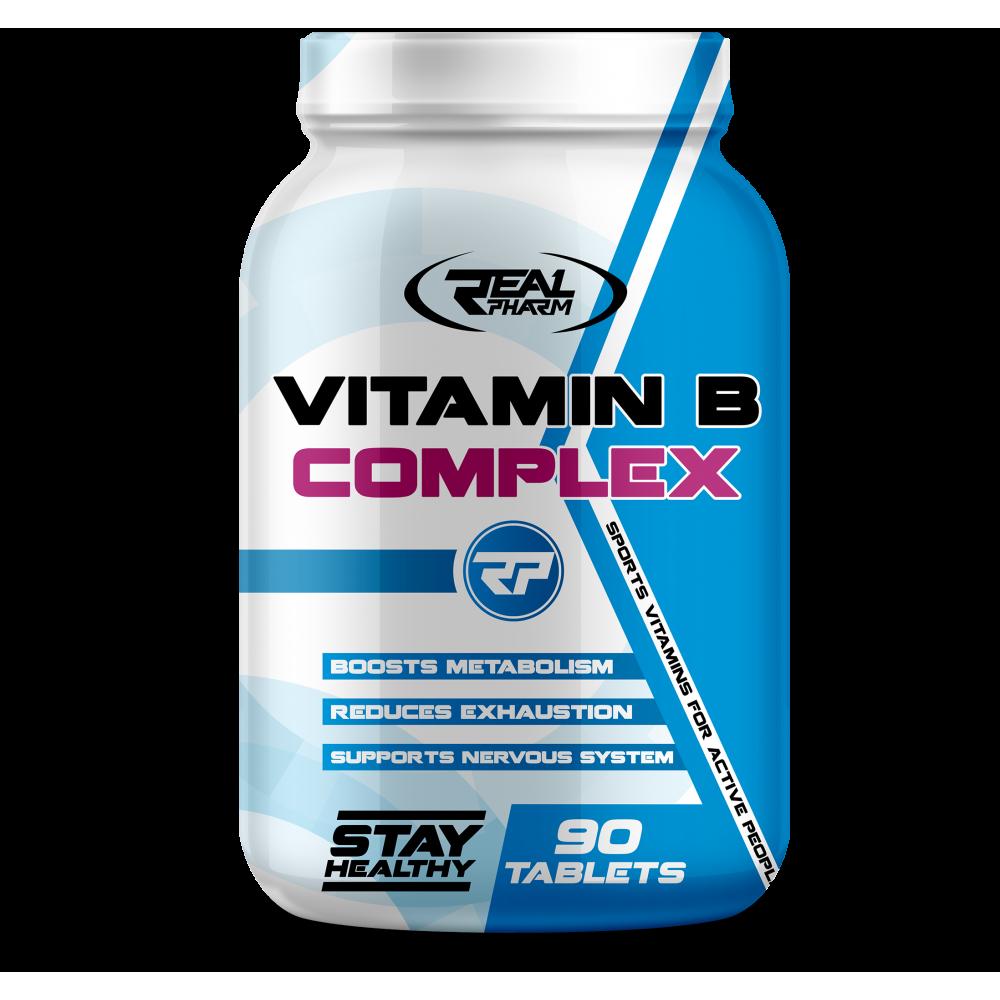Vitamin B Complex Real Pharm (90 табл)