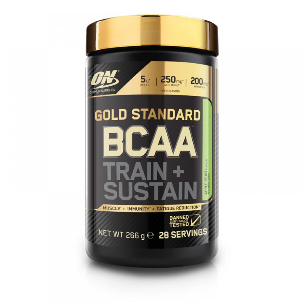 Gold Standard BCAA Train + Sustain Optimum Nutrition (266 гр)