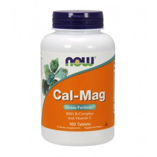 Cal-Mag Stress Formula NOW (100 табл)