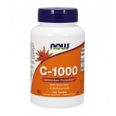 Vitamin C 1000 NOW (100 табл)