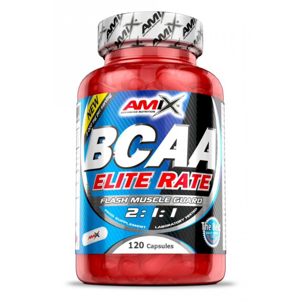 BCAA Elite Rate Amix Nutrition (120 капс)