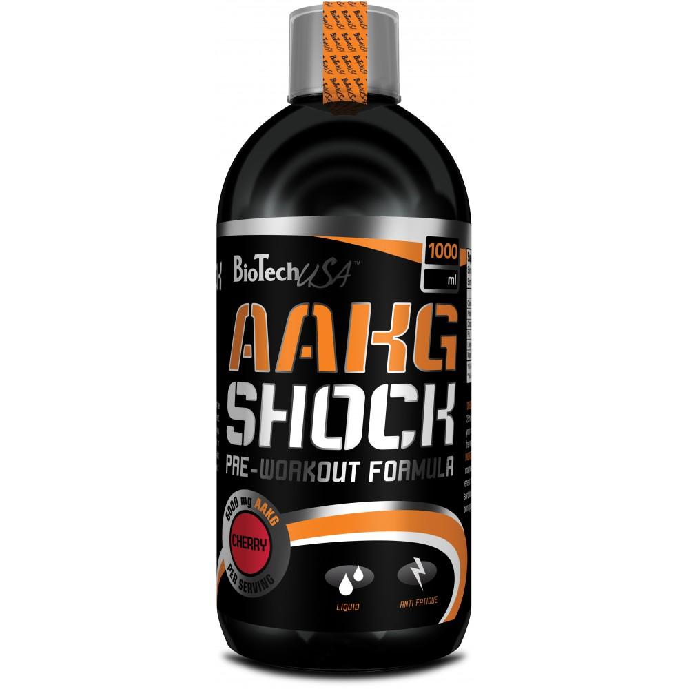 Аргинин AAKG Shock BioTech USA (1000 мл.)