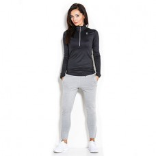 Longsleeve Woman's Half-zip Black Kevin Levrone