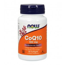 CoQ10 100 mg NOW (50 капс)