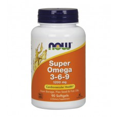 Super Omega 3-6-9 1200 mg NOW (90 капс)