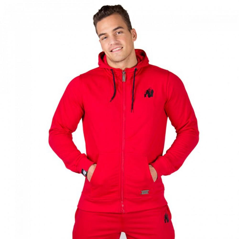 Олимпийка Classic Zipped Hoodie Red